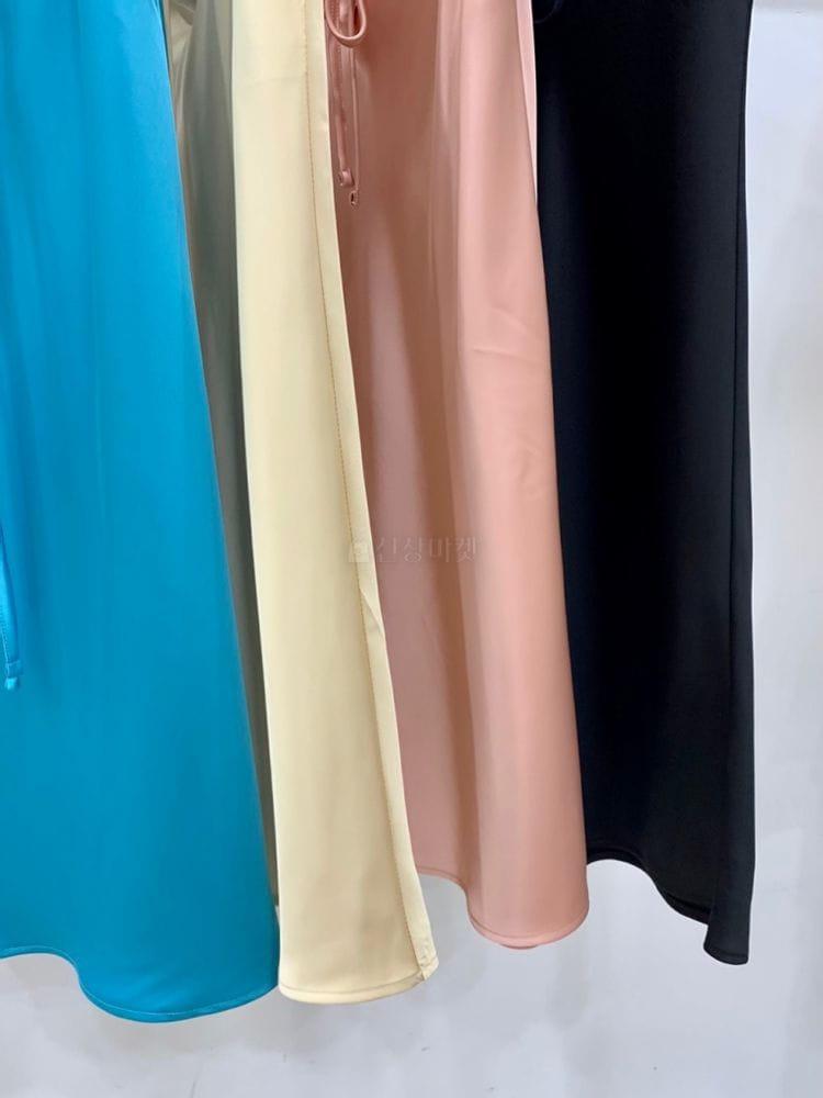 MARIE STUDIOS - BRAND - Korean Children Fashion - #Kfashion4kids - Glossy Skirt