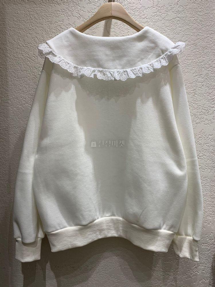 MARIE STUDIOS - Korean Children Fashion - #Kfashion4kids - Lace Sweatshirt - 3