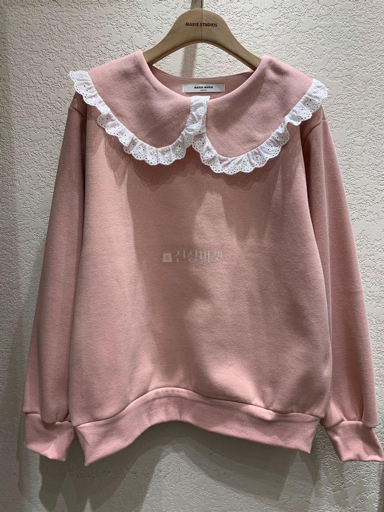 MARIE STUDIOS - Korean Children Fashion - #Kfashion4kids - Lace Sweatshirt - 5