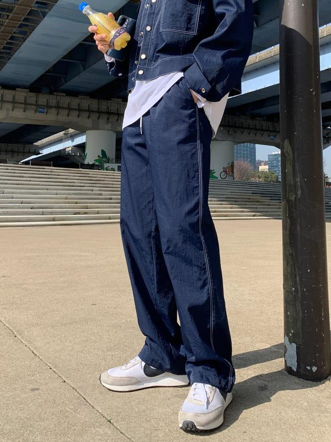 MONE - Korean Children Fashion - #Kfashion4kids - Y Stitch String Pants
