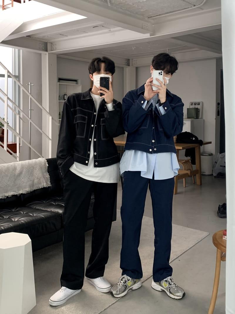 MONE - Korean Children Fashion - #Kfashion4kids - Y Stitch String Pants - 4
