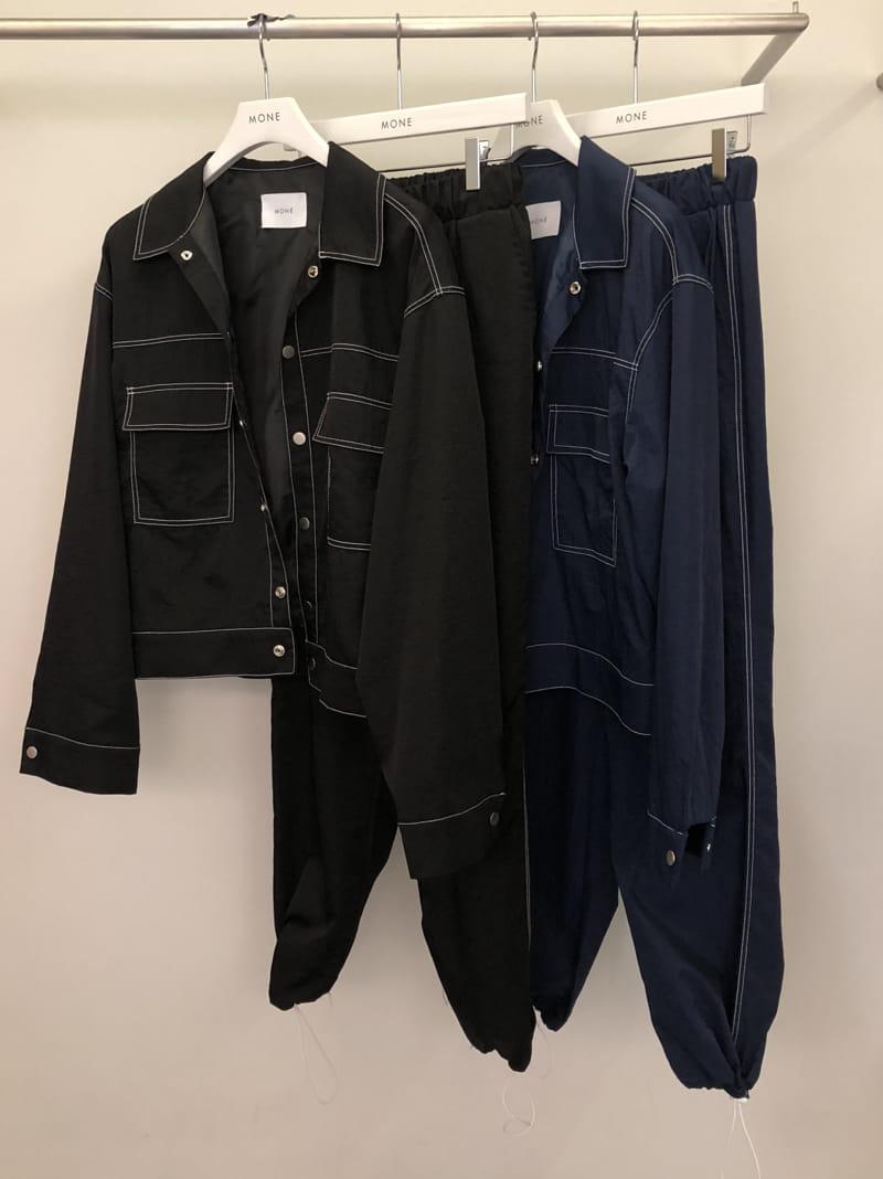 MONE - Korean Children Fashion - #Kfashion4kids - Y Stitch Jacket - 4