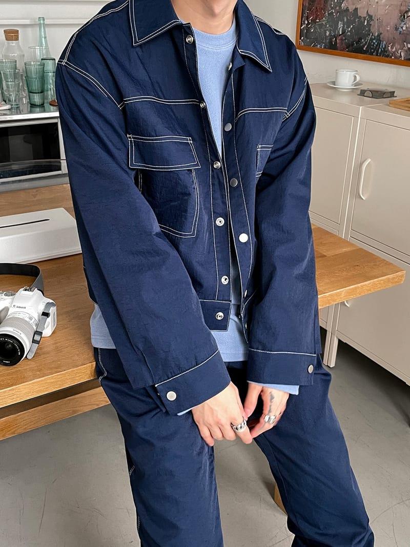 MONE - BRAND - Korean Children Fashion - #Kfashion4kids - Y Stitch Jacket