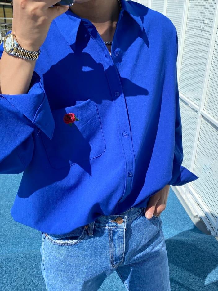 MONE - Korean Children Fashion - #Kfashion4kids - Jackson Rose Over Shirt - 2