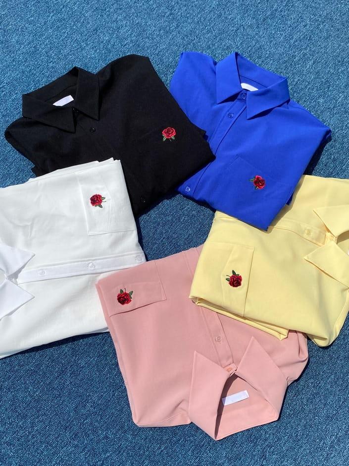 MONE - Korean Children Fashion - #Kfashion4kids - Jackson Rose Over Shirt - 4