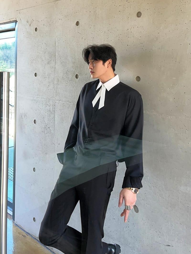 MONE - Korean Children Fashion - #Kfashion4kids - Jent Tie Color Shirt