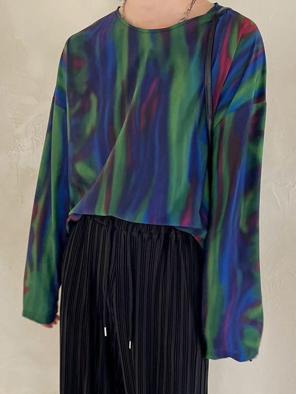 MONE - Korean Children Fashion - #Kfashion4kids - Tra Coat Rainbow Tee