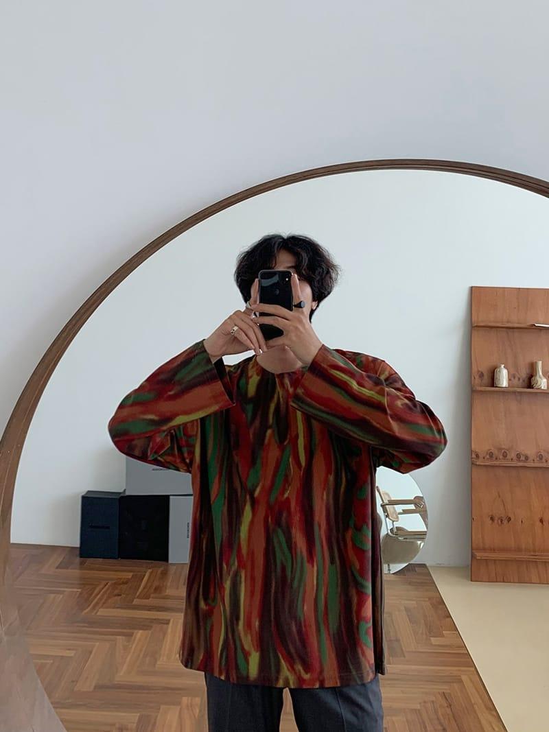 MONE - Korean Children Fashion - #Kfashion4kids - Tra Coat Rainbow Tee - 2