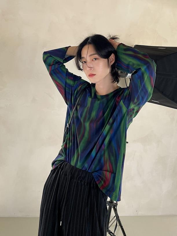 MONE - BRAND - Korean Children Fashion - #Kfashion4kids - Tra Coat Rainbow Tee