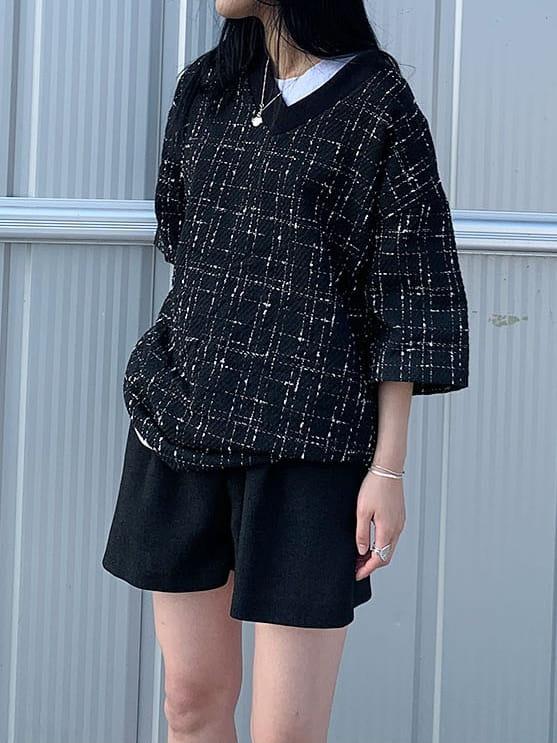 MONE - Korean Children Fashion - #Kfashion4kids - Patra Tweed Tee - 2
