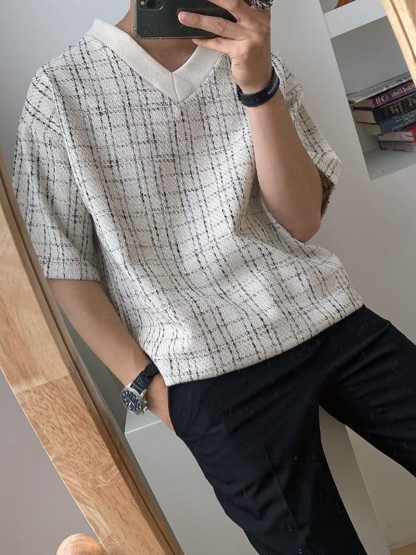 MONE - Korean Children Fashion - #Kfashion4kids - Patra Tweed Tee - 3