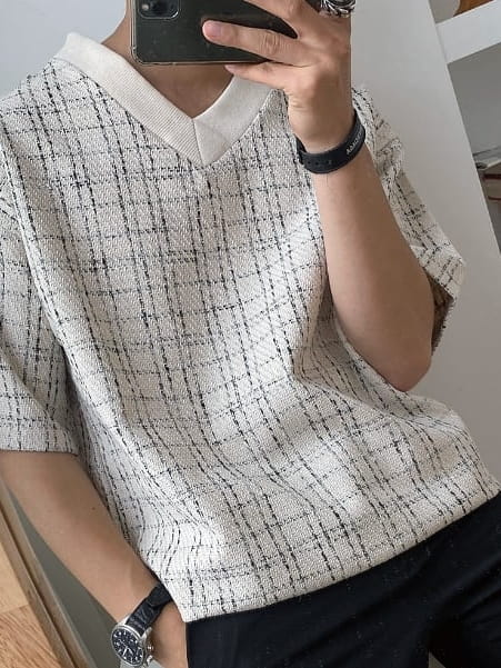 MONE - Korean Children Fashion - #Kfashion4kids - Patra Tweed Tee - 4