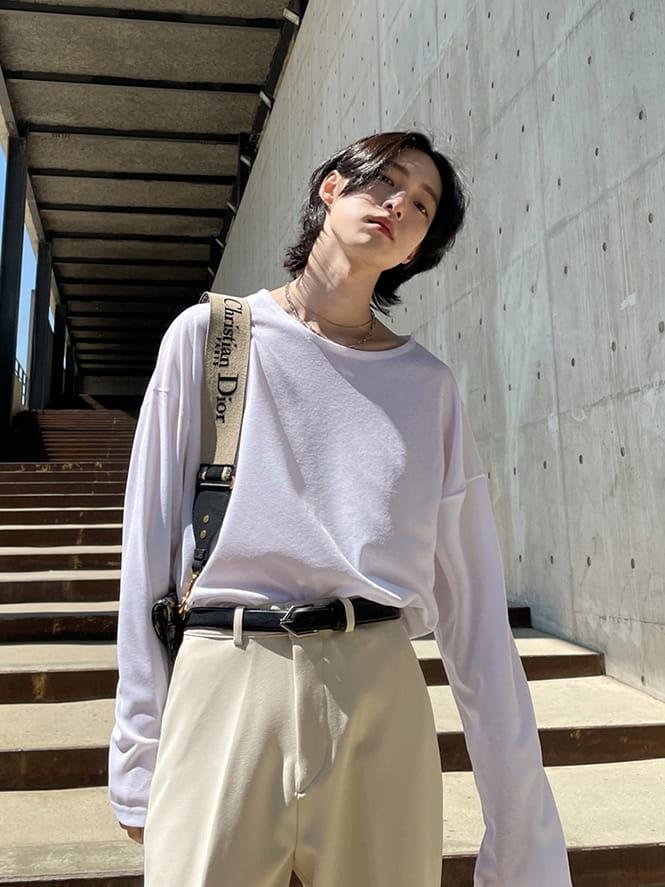 MONE - Korean Children Fashion - #Kfashion4kids - Pitch See Through Tee