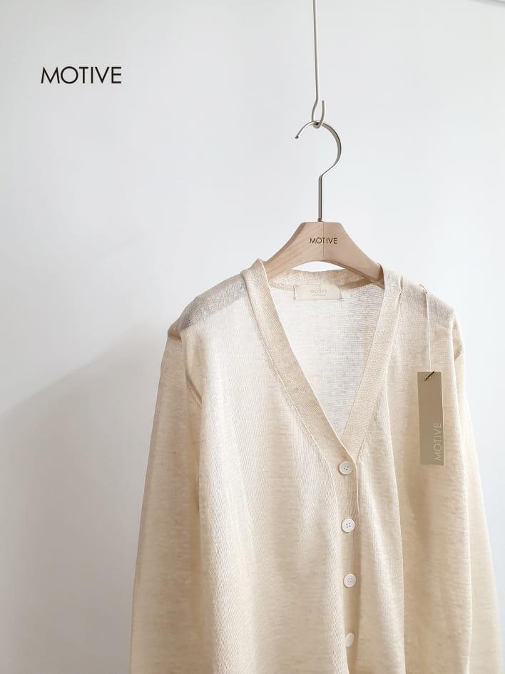 MOTIVE  - Korean Children Fashion - #Kfashion4kids - Linen Mini Cardigan - 2