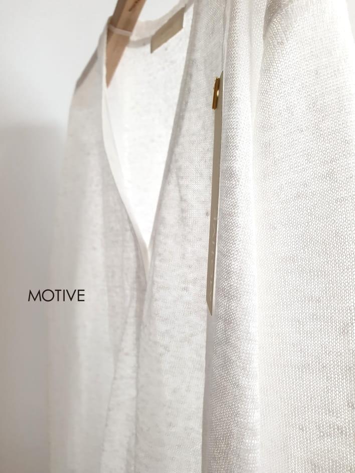 MOTIVE  - Korean Children Fashion - #Kfashion4kids - Linen Mini Cardigan - 3