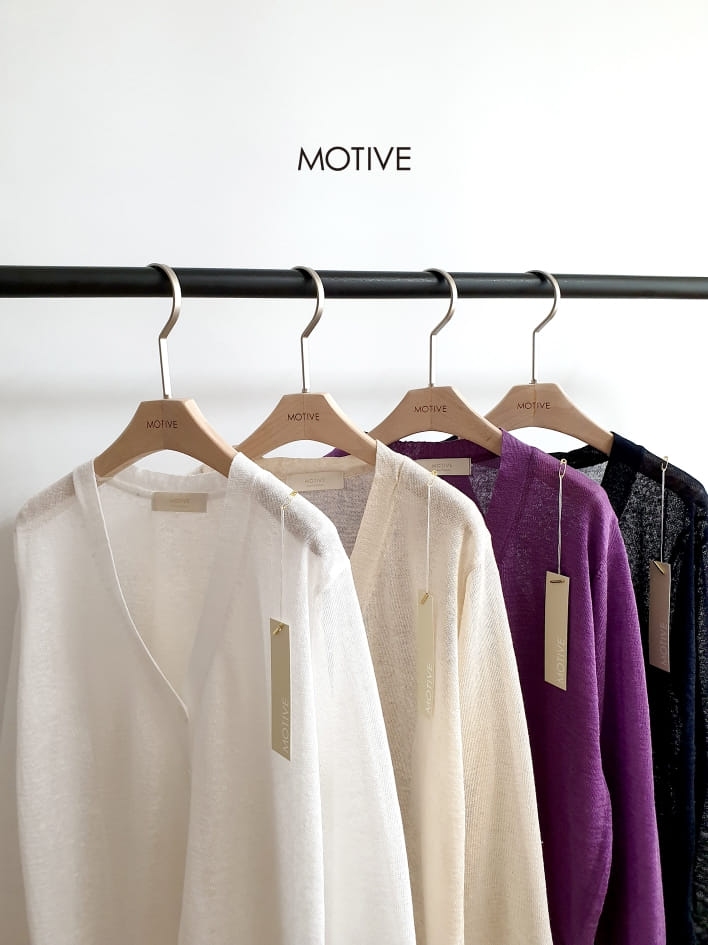 MOTIVE  - BRAND - Korean Children Fashion - #Kfashion4kids - Linen Mini Cardigan