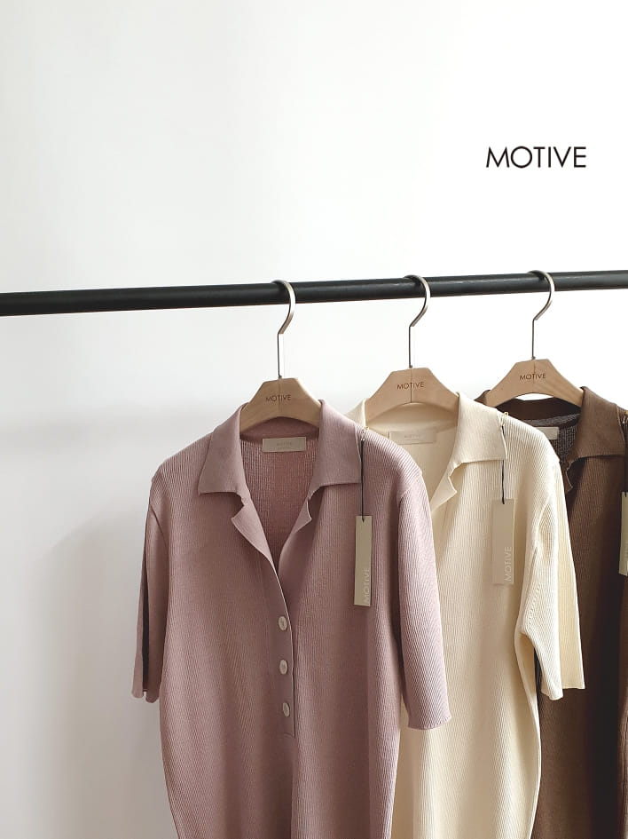 MOTIVE  - Korean Children Fashion - #Kfashion4kids - Simple Crew Collar Tee