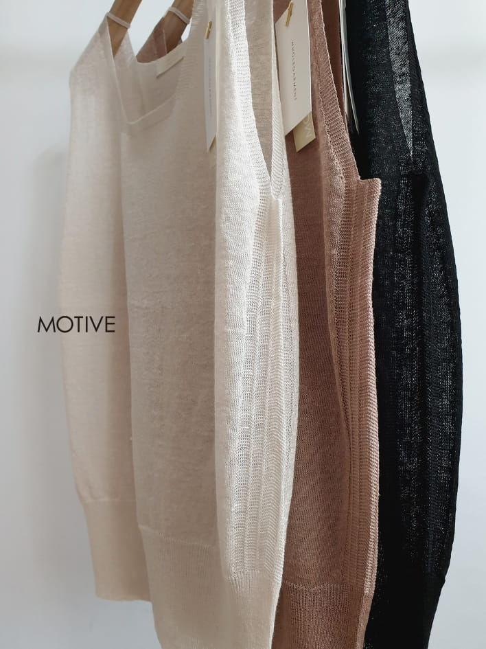 MOTIVE  - Korean Children Fashion - #Kfashion4kids - Holga Saint Sleeveless  - 2