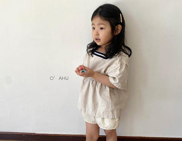 O'AHU - Korean Children Fashion - #Kfashion4kids - Hepburn Blouse