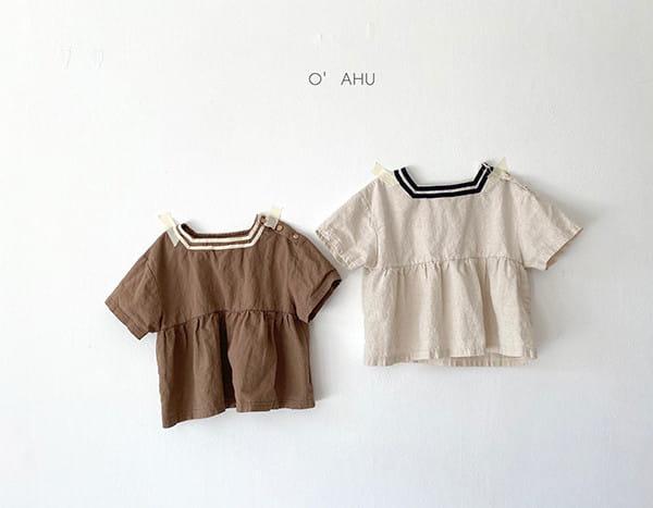 O'AHU - BRAND - Korean Children Fashion - #Kfashion4kids - Hepburn Blouse