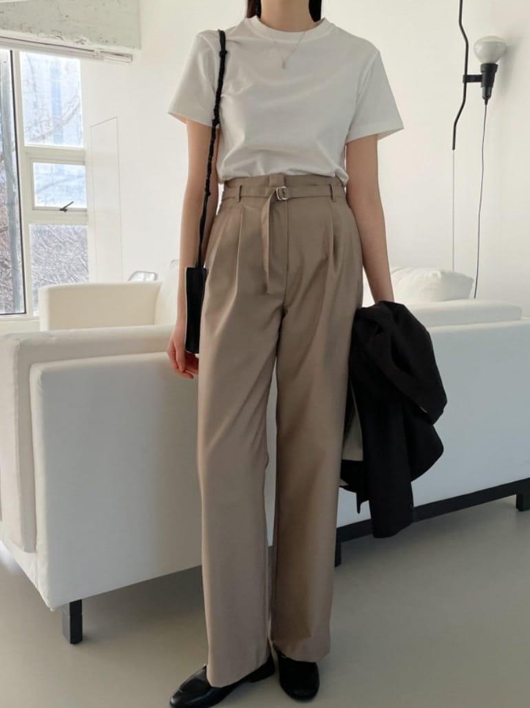 ONDO - Korean Children Fashion - #Kfashion4kids - Belt Pants