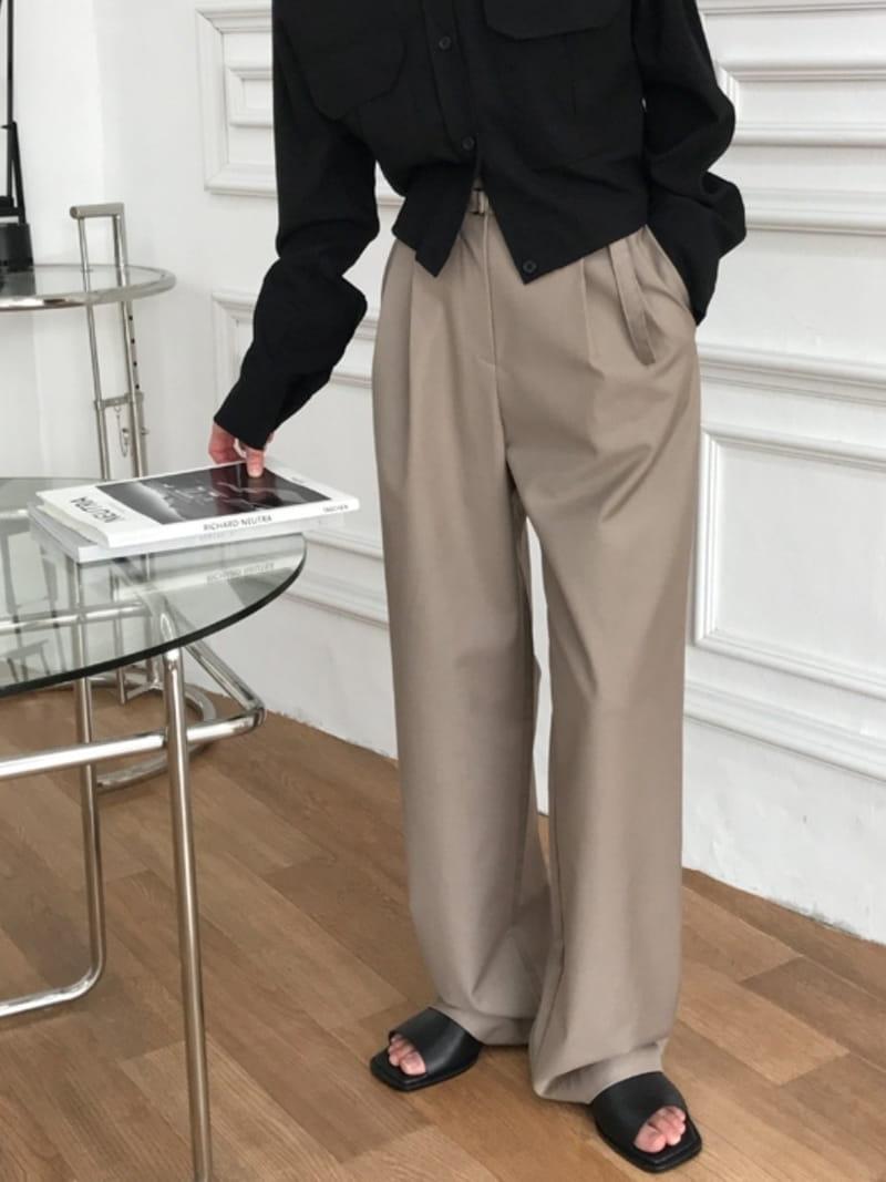 ONDO - Korean Children Fashion - #Kfashion4kids - Belt Pants - 2