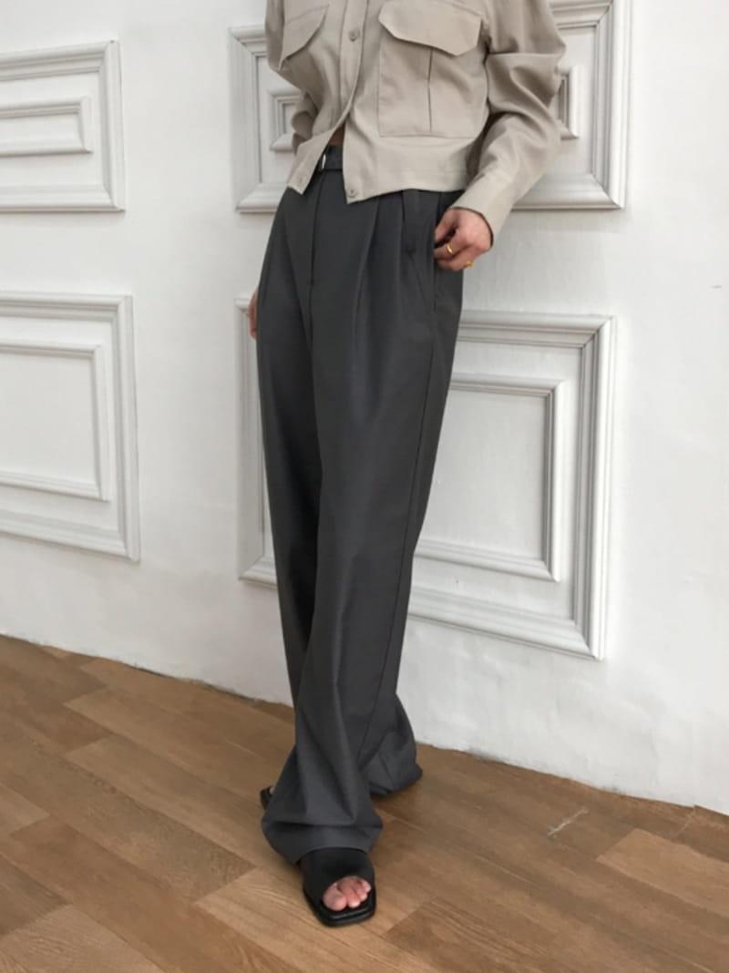 ONDO - Korean Children Fashion - #Kfashion4kids - Belt Pants - 3