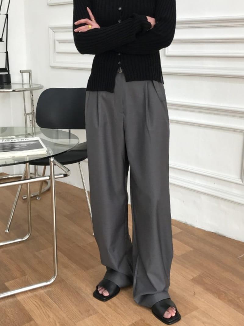 ONDO - Korean Children Fashion - #Kfashion4kids - Belt Pants - 4
