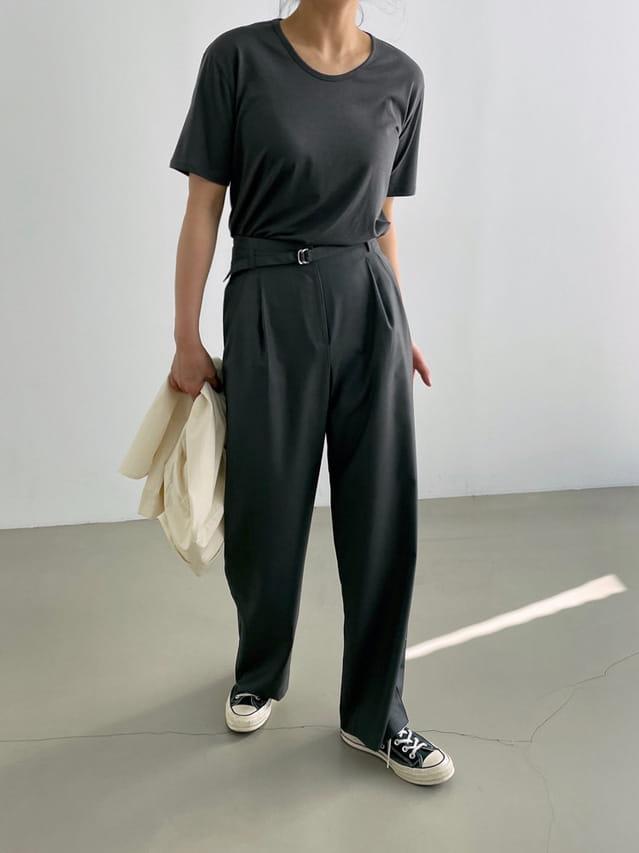 ONDO - BRAND - Korean Children Fashion - #Kfashion4kids - Belt Pants