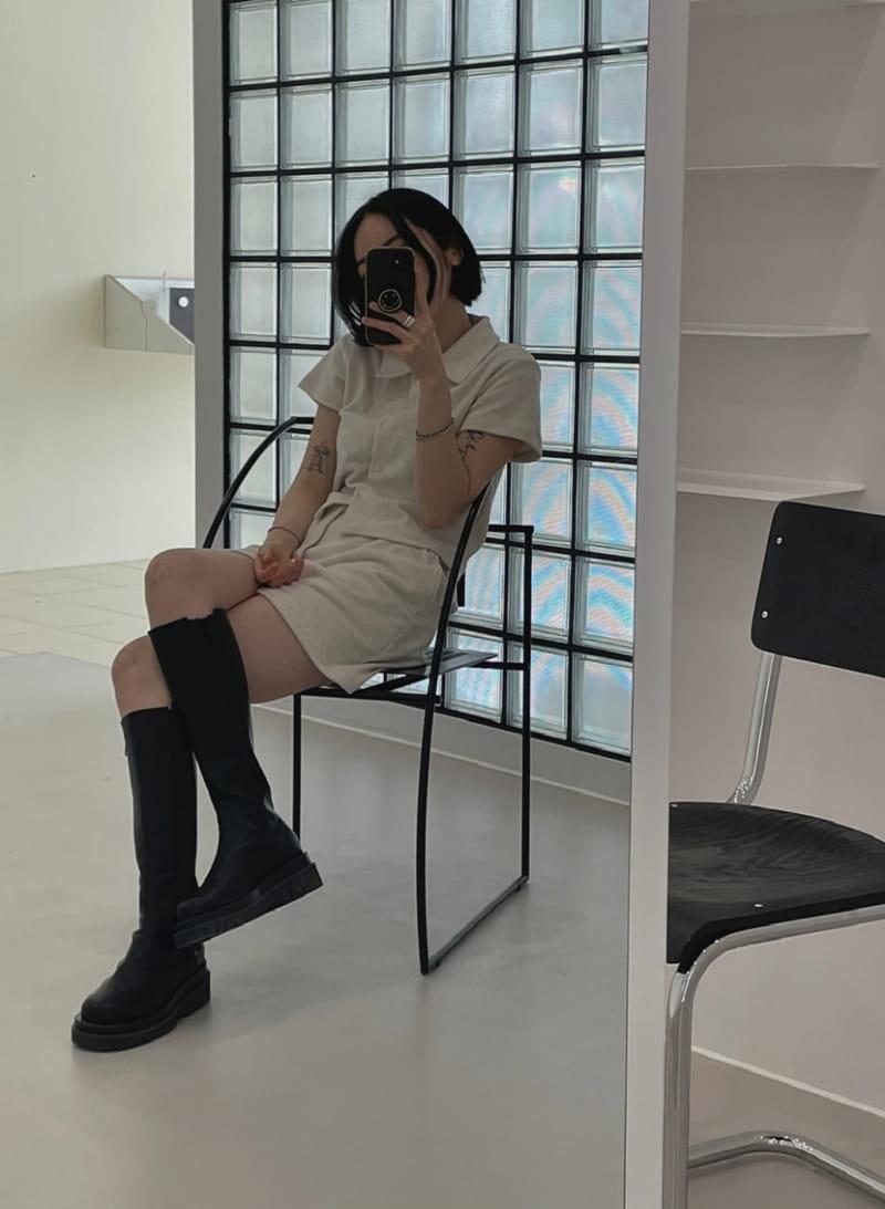 ONDO - Korean Children Fashion - #Kfashion4kids - Terry Top Bottom Set - 3