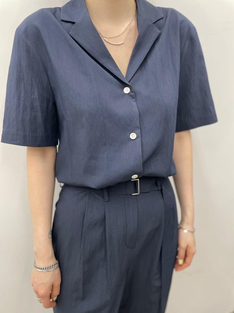 ONDO - Korean Children Fashion - #Kfashion4kids - Roe Short Sleeves Shirt