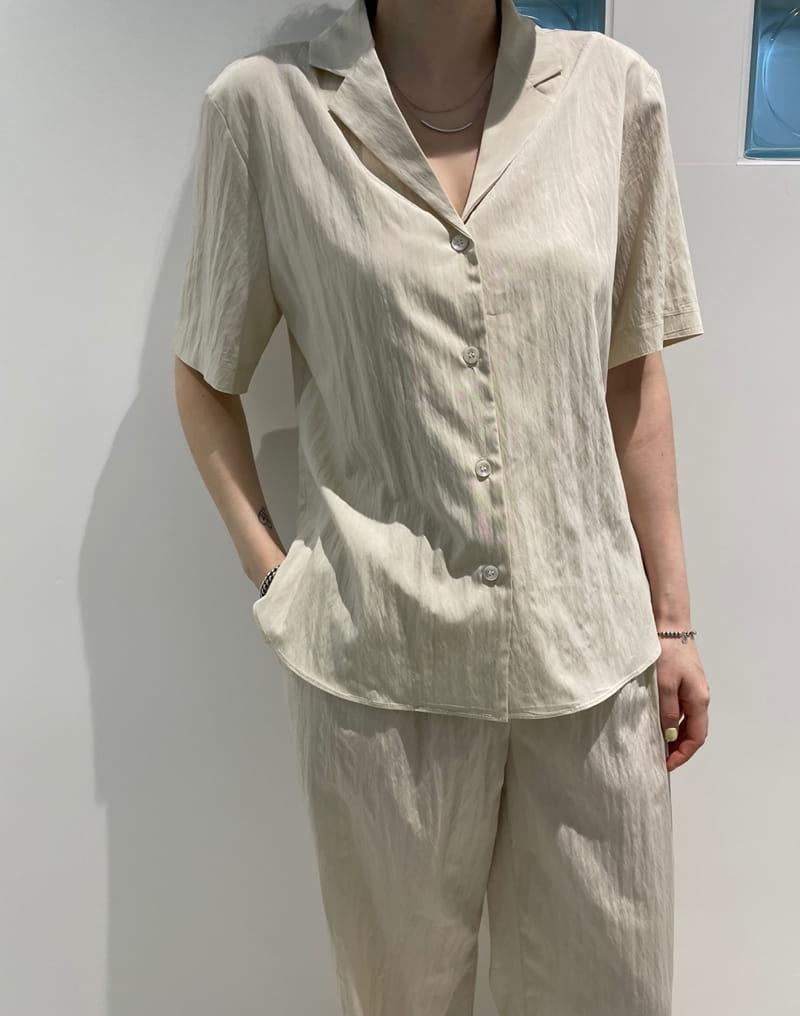 ONDO - Korean Children Fashion - #Kfashion4kids - Roe Short Sleeves Shirt - 2