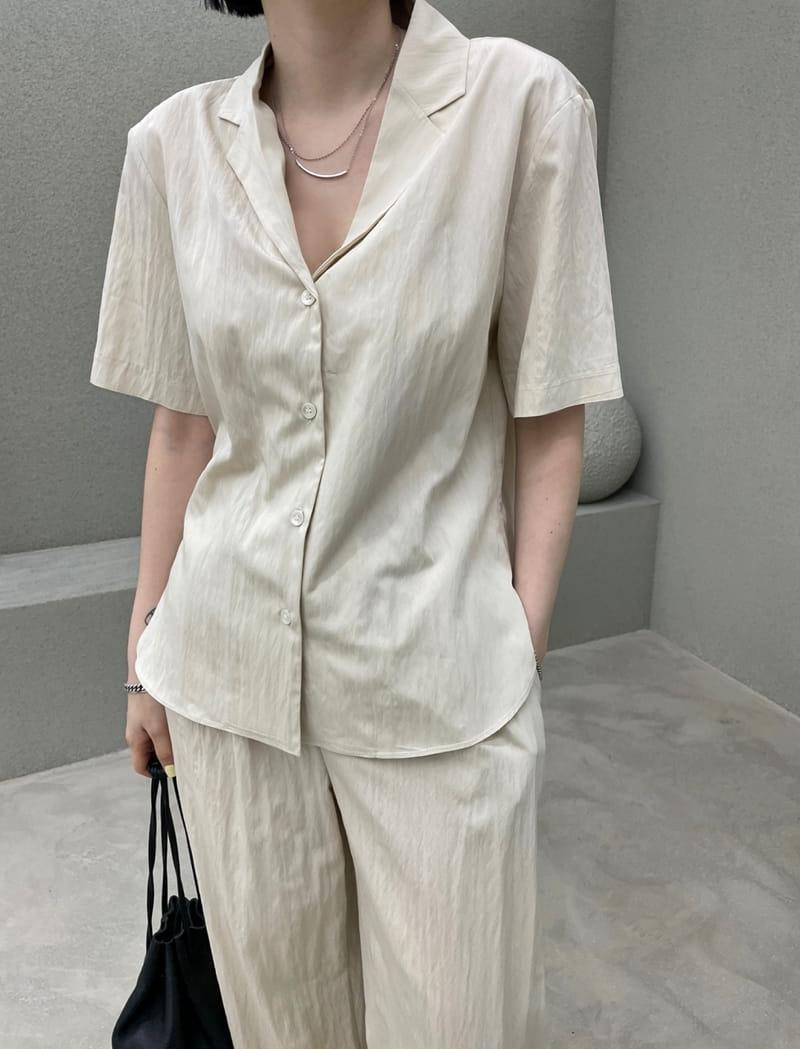 ONDO - Korean Children Fashion - #Kfashion4kids - Roe Short Sleeves Shirt - 3