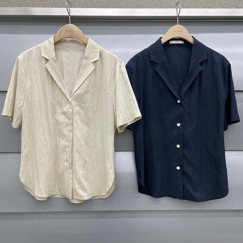 ONDO - Korean Children Fashion - #Kfashion4kids - Roe Short Sleeves Shirt - 4