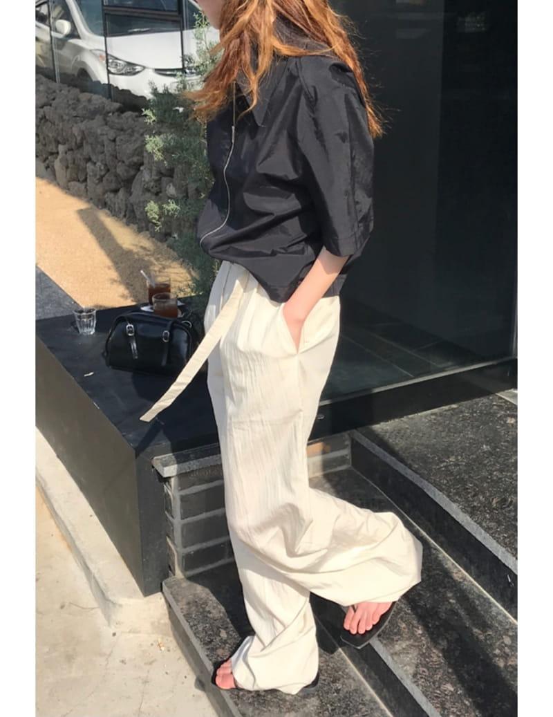 ONDO - Korean Children Fashion - #Kfashion4kids - Roe Belt Pants