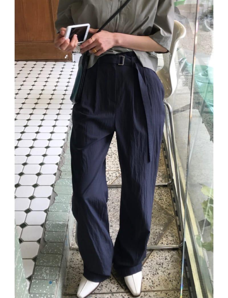 ONDO - Korean Children Fashion - #Kfashion4kids - Roe Belt Pants - 2