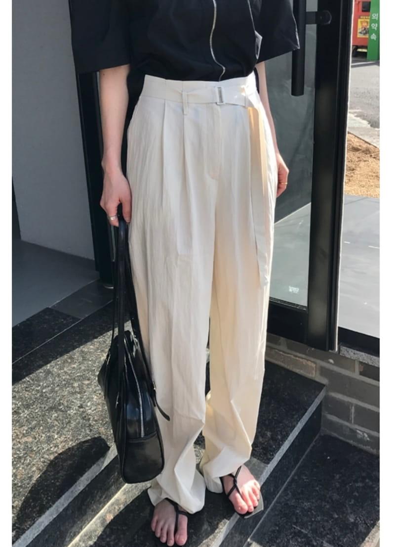 ONDO - BRAND - Korean Children Fashion - #Kfashion4kids - Roe Belt Pants