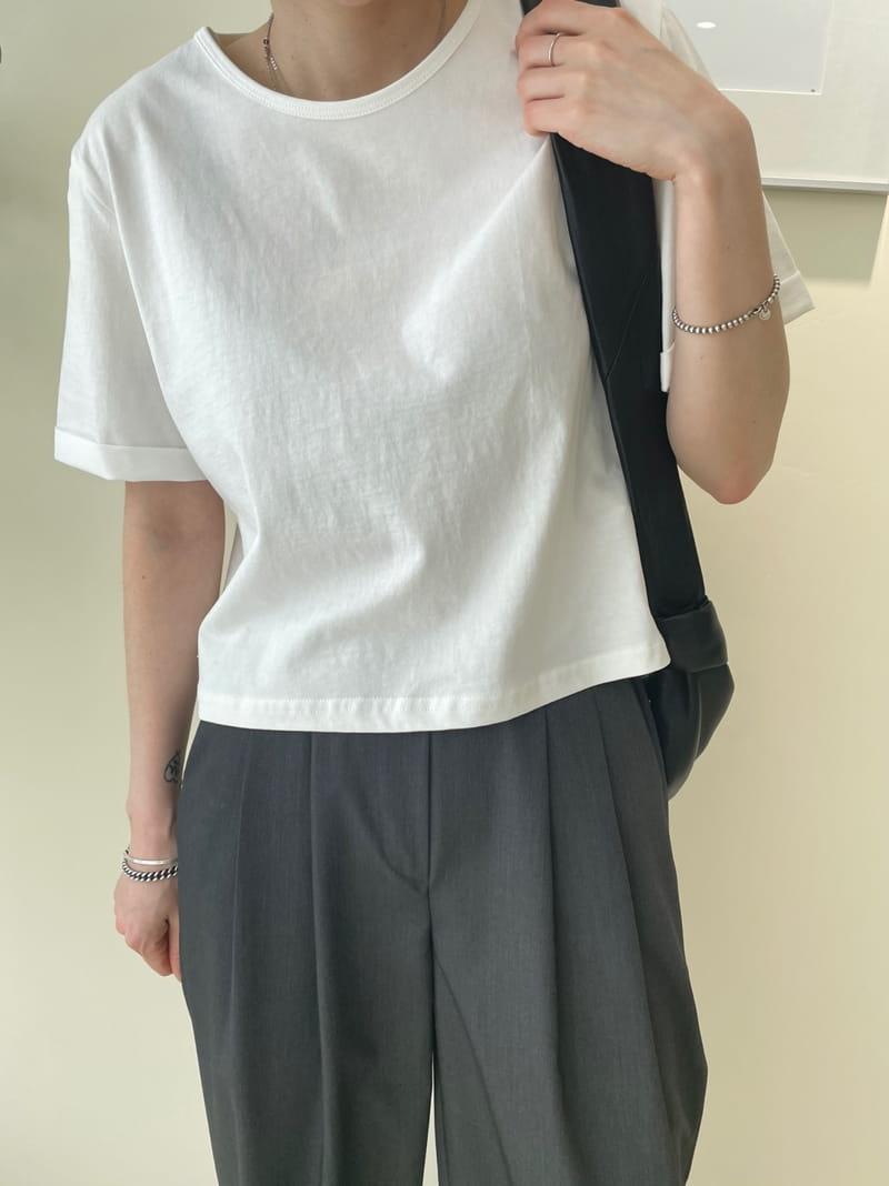 ONDO - Korean Children Fashion - #Kfashion4kids - Cabra cropped Short Sleeves Tee - 2
