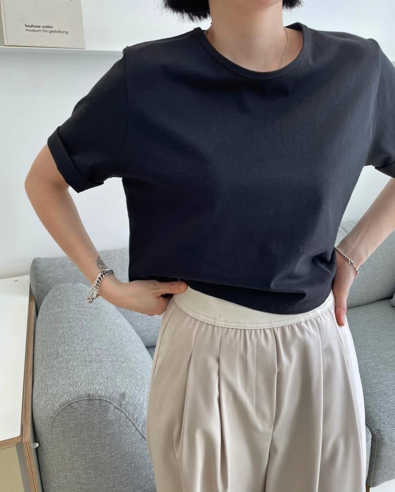 ONDO - Korean Children Fashion - #Kfashion4kids - Cabra cropped Short Sleeves Tee - 3