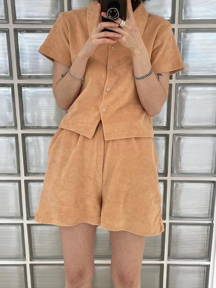 ONDO - Korean Children Fashion - #Kfashion4kids - Terry Shirt Pants - 2