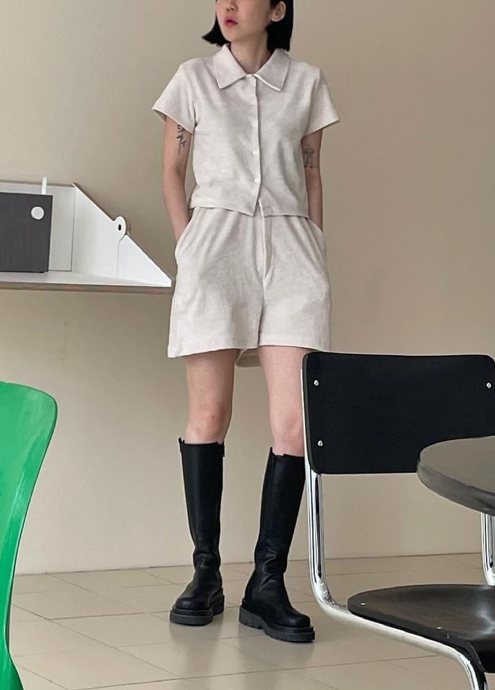 ONDO - Korean Children Fashion - #Kfashion4kids - Terry Shirt Pants - 3