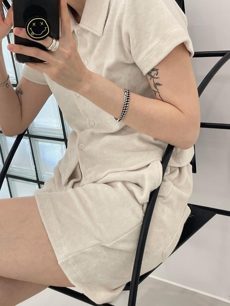 ONDO - Korean Children Fashion - #Kfashion4kids - Terry Shirt Pants - 4