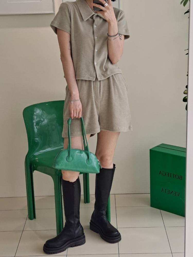 ONDO - BRAND - Korean Children Fashion - #Kfashion4kids - Terry Shirt Pants