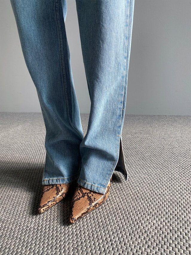 ONDO - Korean Children Fashion - #Kfashion4kids - Open Slit Jeans - 3