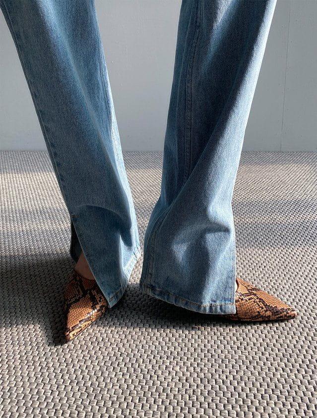 ONDO - Korean Children Fashion - #Kfashion4kids - Open Slit Jeans - 4