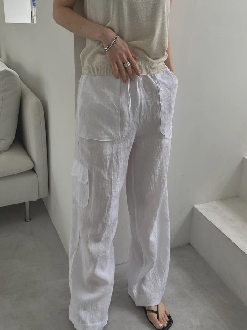ONDO - Korean Children Fashion - #Kfashion4kids - 100 Pocket Linen Pleated Pants