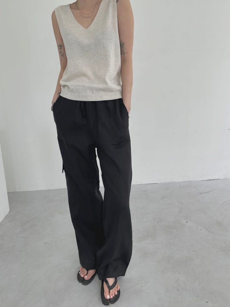 ONDO - Korean Children Fashion - #Kfashion4kids - 100 Pocket Linen Pleated Pants - 2