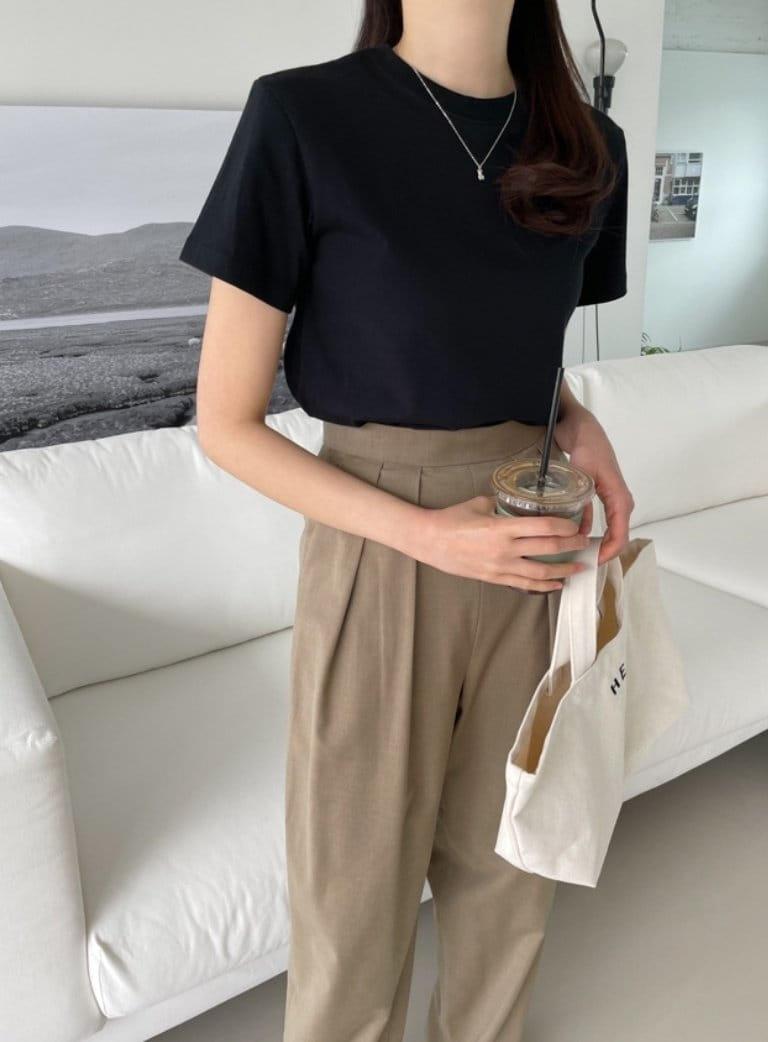 ONDO - Korean Children Fashion - #Kfashion4kids - Plan Short Sleeves Tee