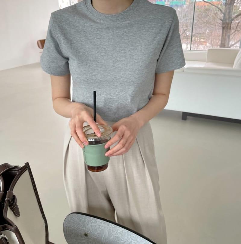 ONDO - Korean Children Fashion - #Kfashion4kids - Plan Short Sleeves Tee - 2