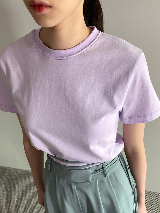 ONDO - Korean Children Fashion - #Kfashion4kids - Plan Short Sleeves Tee - 3